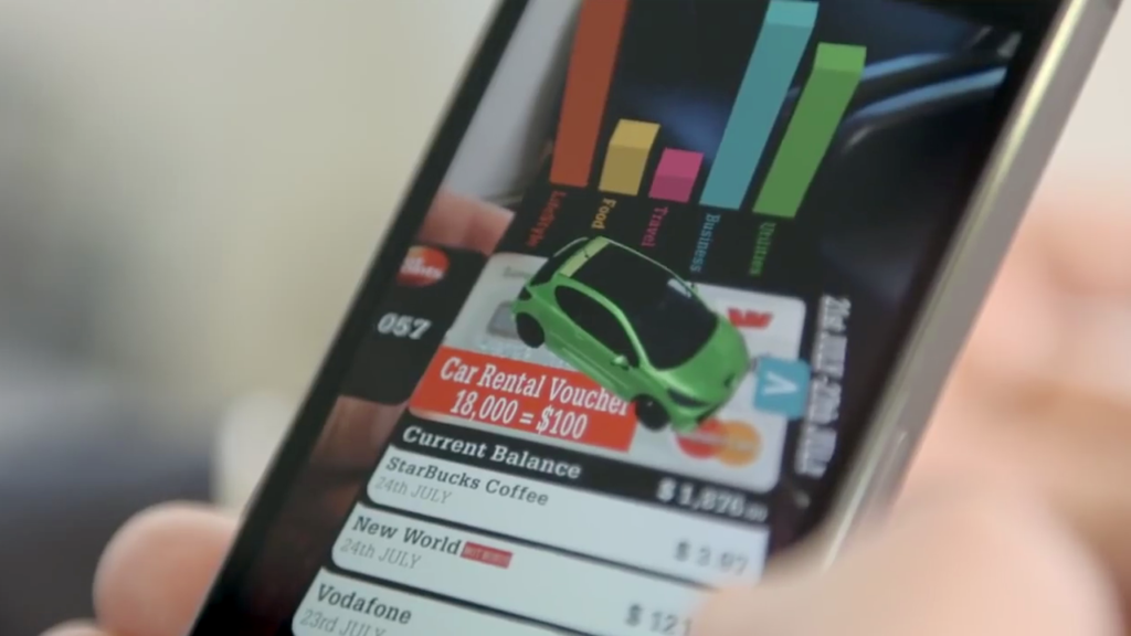 Uses For Augmented Reality In Banking - Bank Card