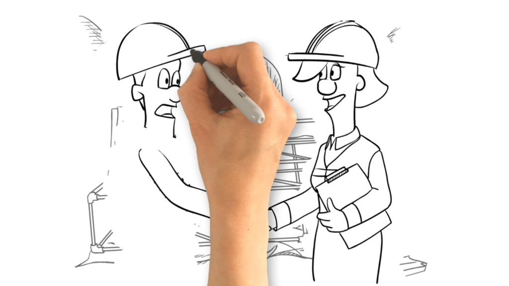 Example Of A Character Whiteboard Animation For Network Rail