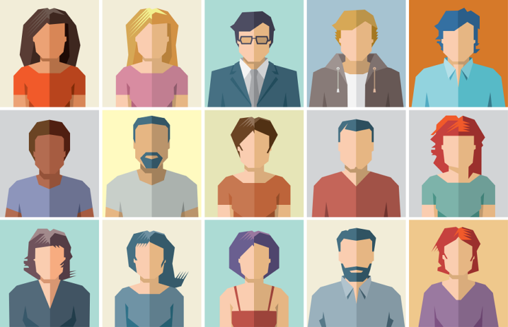 Application Persona Icons 15 Illustrations